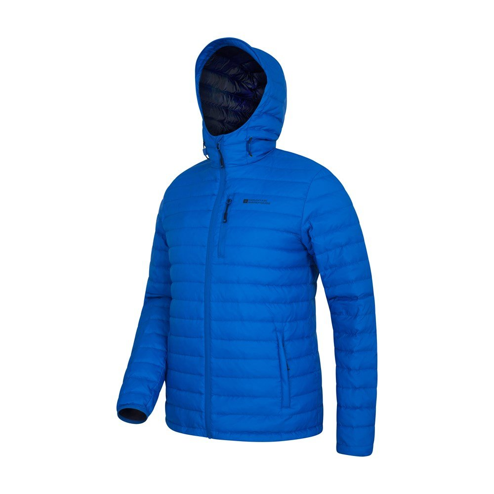Mountain-Warehouse-Mens-Down-Padded-Jacket-Water-Resistant-Winter-Coat miniatura 40