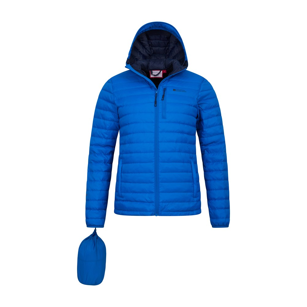 Mountain-Warehouse-Mens-Down-Padded-Jacket-Water-Resistant-Winter-Coat miniatura 23