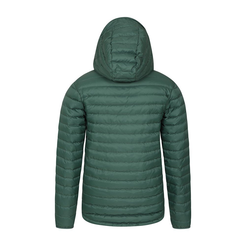 Mountain-Warehouse-Mens-Down-Padded-Jacket-Water-Resistant-Winter-Coat miniatura 46