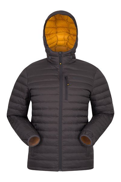 Henry II Extreme Mens Down Padded Jacket - Grey