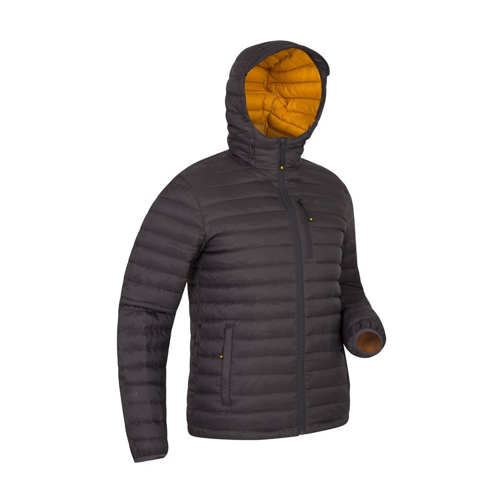 Mountain-Warehouse-Mens-Down-Padded-Jacket-Water-Resistant-Winter-Coat miniatura 30