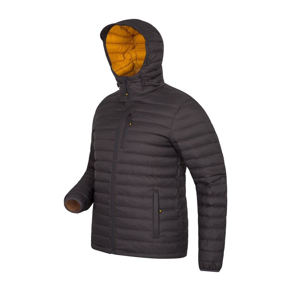 Mountain-Warehouse-Mens-Down-Padded-Jacket-Water-Resistant-Winter-Coat miniatura 54