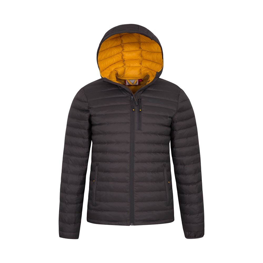 Mountain-Warehouse-Mens-Down-Padded-Jacket-Water-Resistant-Winter-Coat miniatura 53