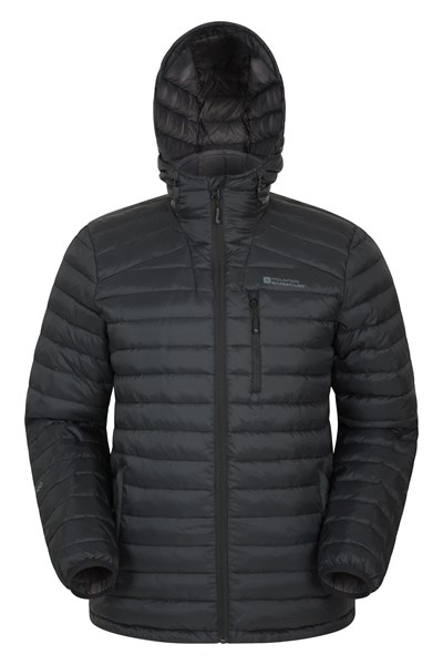 Henry II Extreme Mens Down Padded Jacket - Charcoal