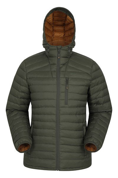Henry II Extreme Mens Down Padded Jacket - Green