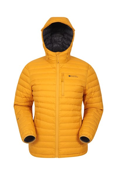 Henry II Mens Down Padded Jacket - Yellow