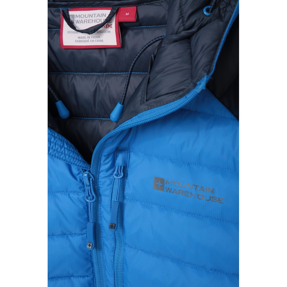 Mountain-Warehouse-Mens-Down-Padded-Jacket-Water-Resistant-Winter-Coat miniatura 64