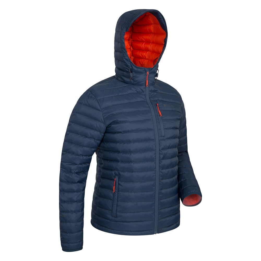 Mountain-Warehouse-Mens-Down-Padded-Jacket-Water-Resistant-Winter-Coat miniatura 42