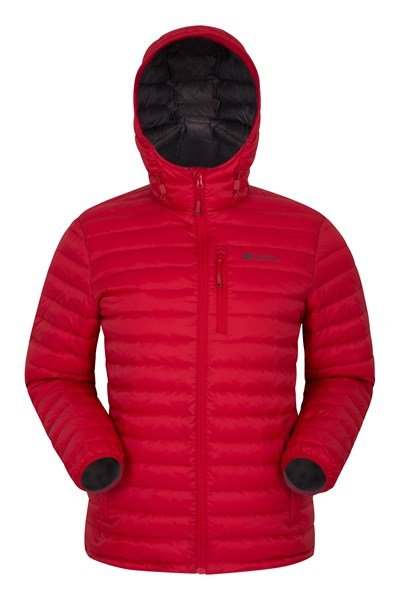 Henry II Extreme Mens Down Padded Jacket - Red