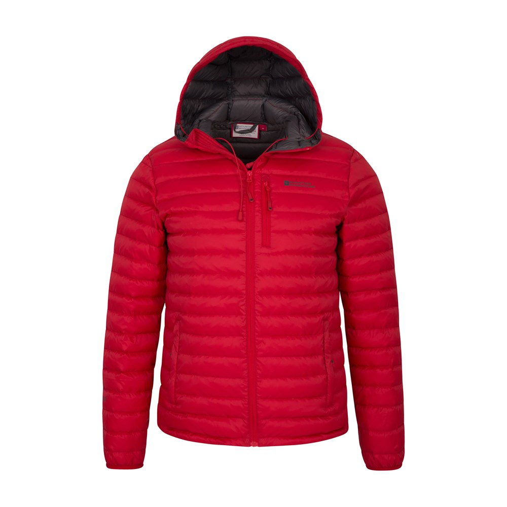 Mountain-Warehouse-Mens-Down-Padded-Jacket-Water-Resistant-Winter-Coat miniatura 75