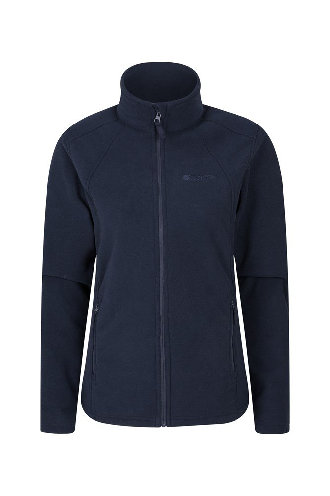 Beech Windproof Womens Fleece - Navy