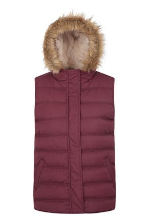 Fir Womens Padded Gilet