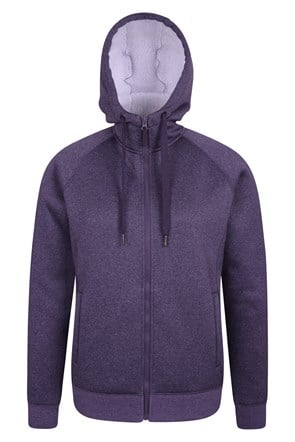 Journey Full Zip Sherpa Lined Womens Hoodie