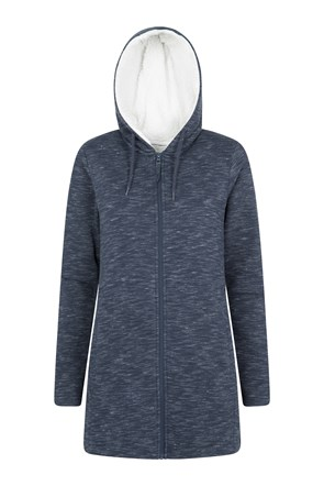 Highland Sherpa Lined Womens Hoodie