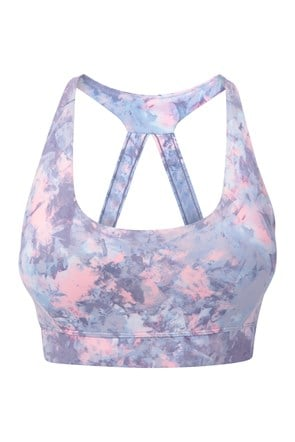 Quick Reactions Patterned Sports Bra