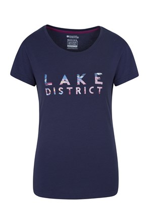 T-Shirt femmes Lake District