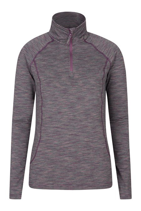 028200 BEND AND STRETCH WOMENS HALF ZIP MIDLAYER