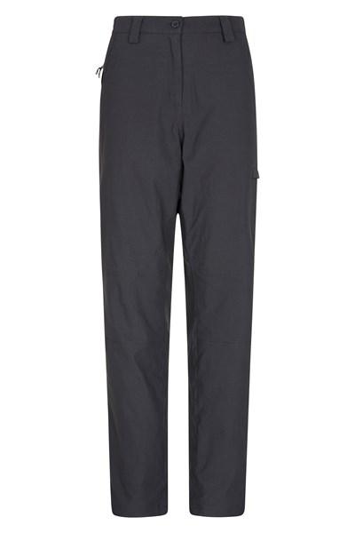 Winter Trek Stretch Womens Trousers - Short Length - Black