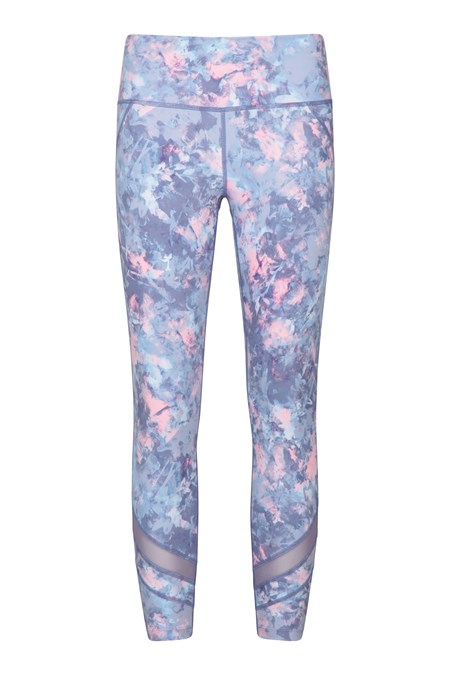 028214 QUICK REACTIONS PATTERNED SHORT LENGTH LEGGING