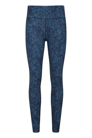 Patterned High-Waisted Womens Tights