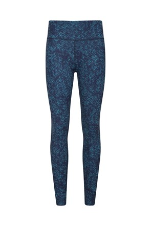 Patterned Womens High Rise Leggings