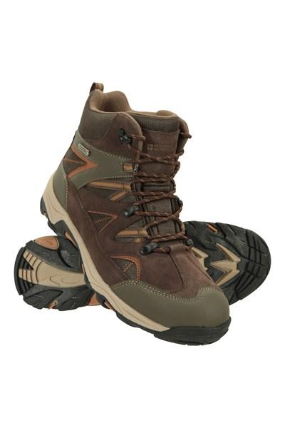 Rapid Mens Waterproof Boots - Brown
