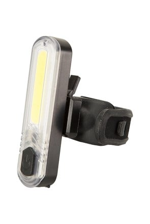 COB USB Bike Light - White
