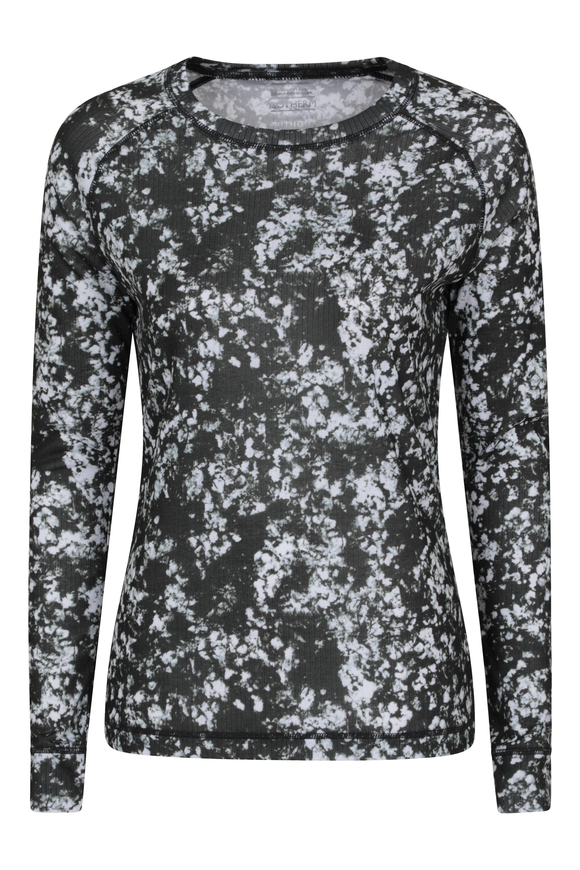 Talus Printed - koszulka damska - Black