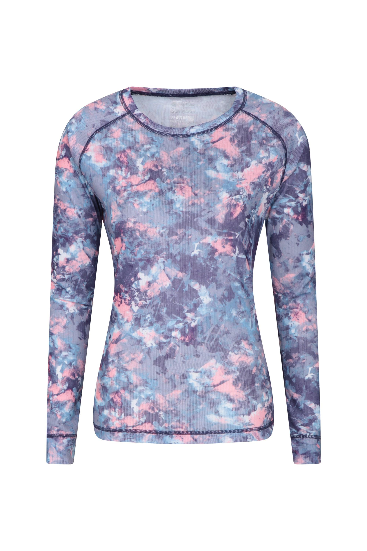 Talus Printed - koszulka damska - Purple