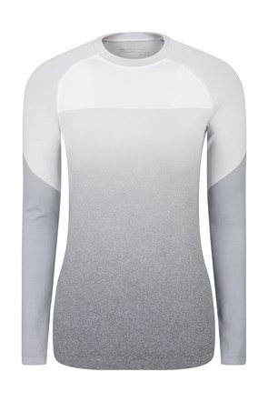 Off Piste Seamless Ombre Womens Top