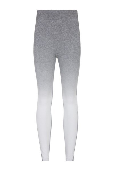 Off Piste Seamless Ombre Womens Pants - Grey
