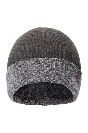 Compass Two Tone Mens Beanie