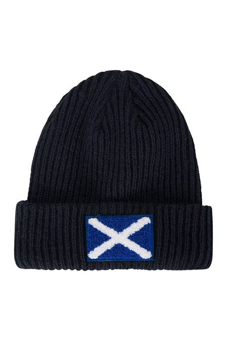 028289 SCOTTISH FLAG BEANIE