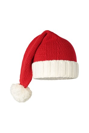 Xmas Long Santa Mens Beanie