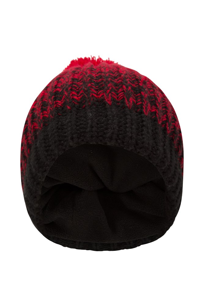 Cold Snap Mens Beanie - Red
