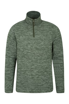 Idris Textured Mens Fleece