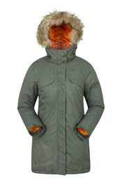 Inferno Parka Womens Long Padded Jacket