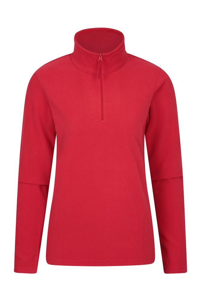Camber Womens Fleece - Dark Red