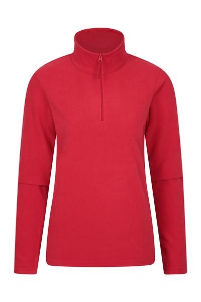 Camber Womens Fleece - Dark Red