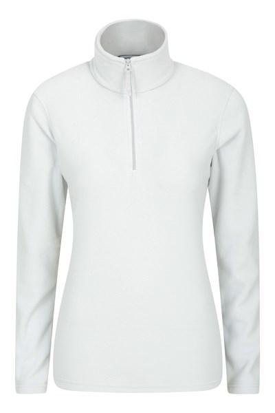 Camber Womens Half-Zip Fleece - Grey