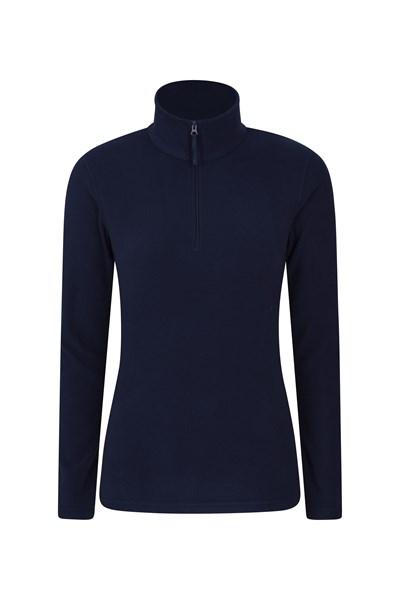 Camber Womens Half-Zip Fleece - Navy