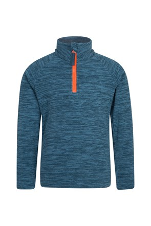 Snowdonia Kids Half Zip Fleece