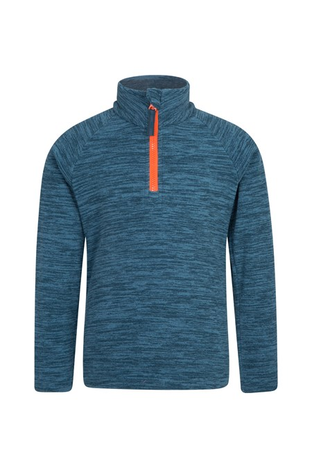 028430 SNOWDONIA KIDS HALF ZIP FLEECE