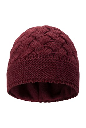Criss Cross Womens Beanie