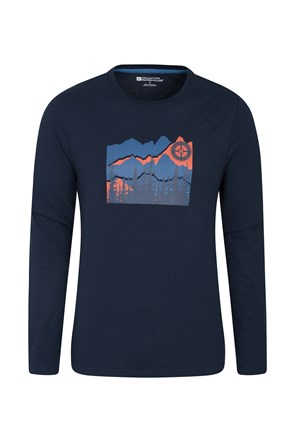 MW Compass Long Sleeve Mens Top