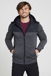 Ascent Mens Padded Hoodie