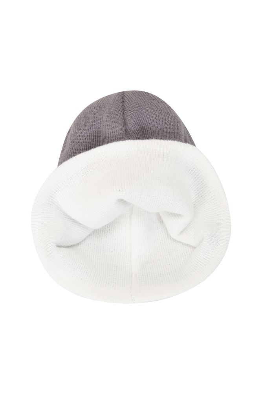 Ivalo Womens Reversible Beanie - White