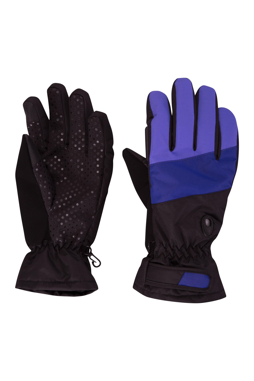 Gants de Ski imperméables femmes Trail Blazer - Bleu Foncé