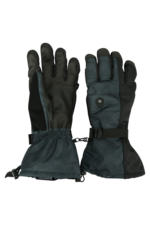 Mountain Mens Ski Gloves - Black