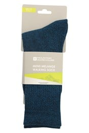 Melange Mens Walking Socks
